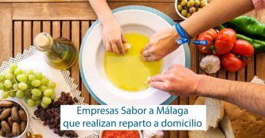Empresas Sabor a Málaga que realizan reparto a domicilio
