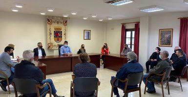Maldonado invita a los hosteleros de Guaro a su adhesión a 'Sabor a Málaga'