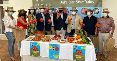 Presentación Ruta Gastronómica y Mercado Sabor a Málaga Tomate Huevo de Toro 2021 00